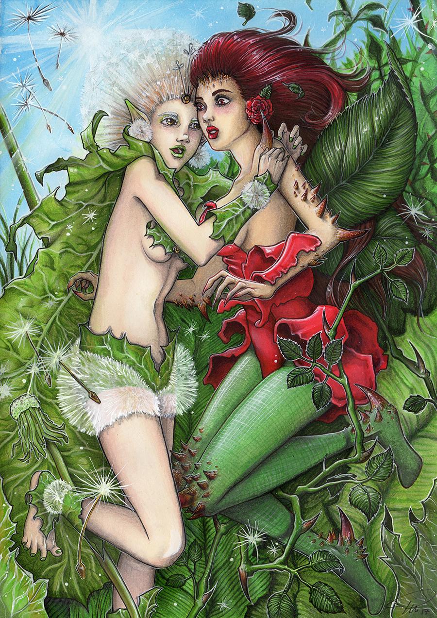 Dandelion & Rose