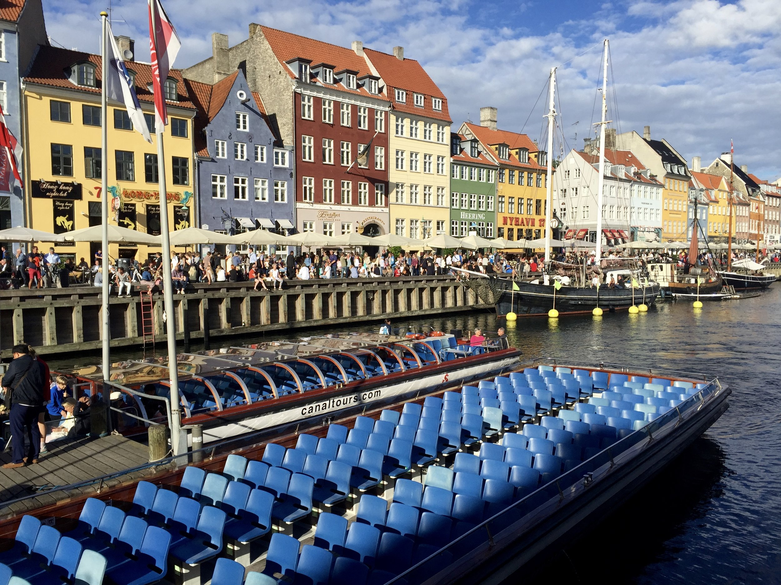 Classic shot of Copenhagen