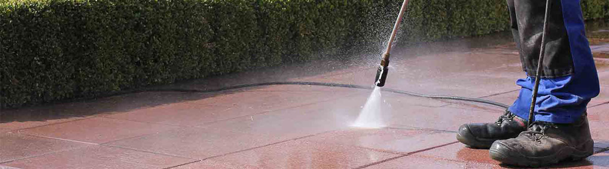 pressure washing -