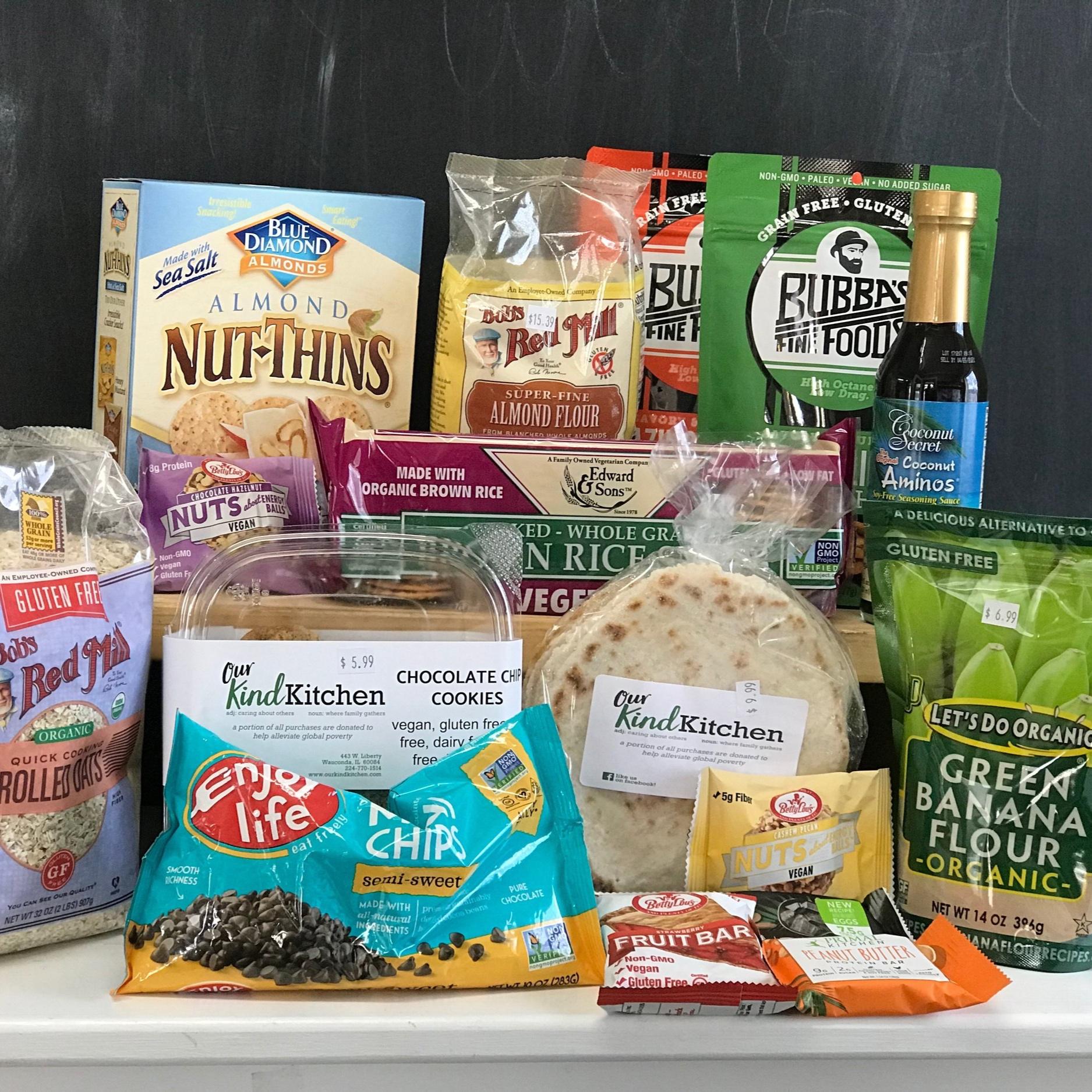 Gluten-Free Foods -
