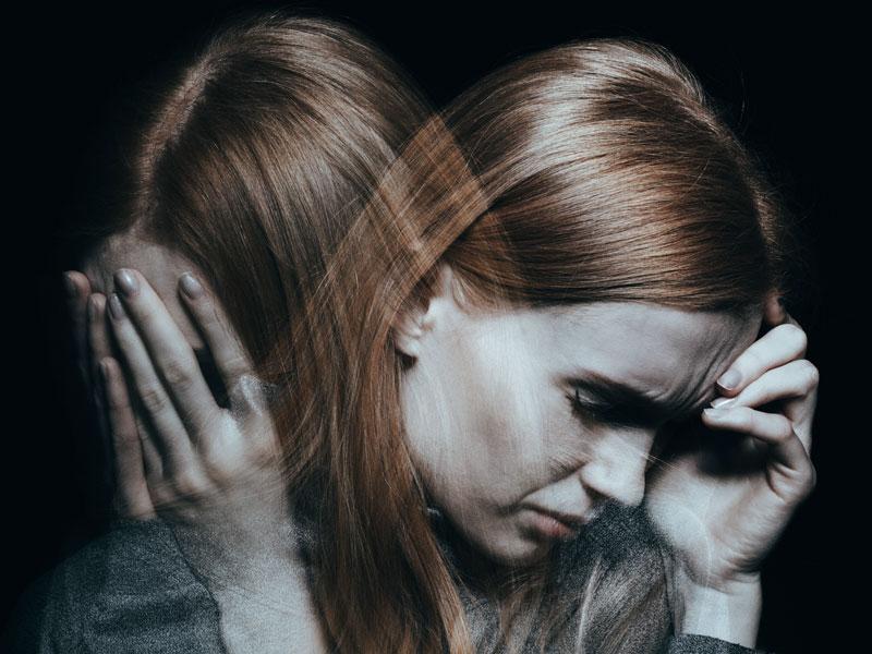 PTSD woman