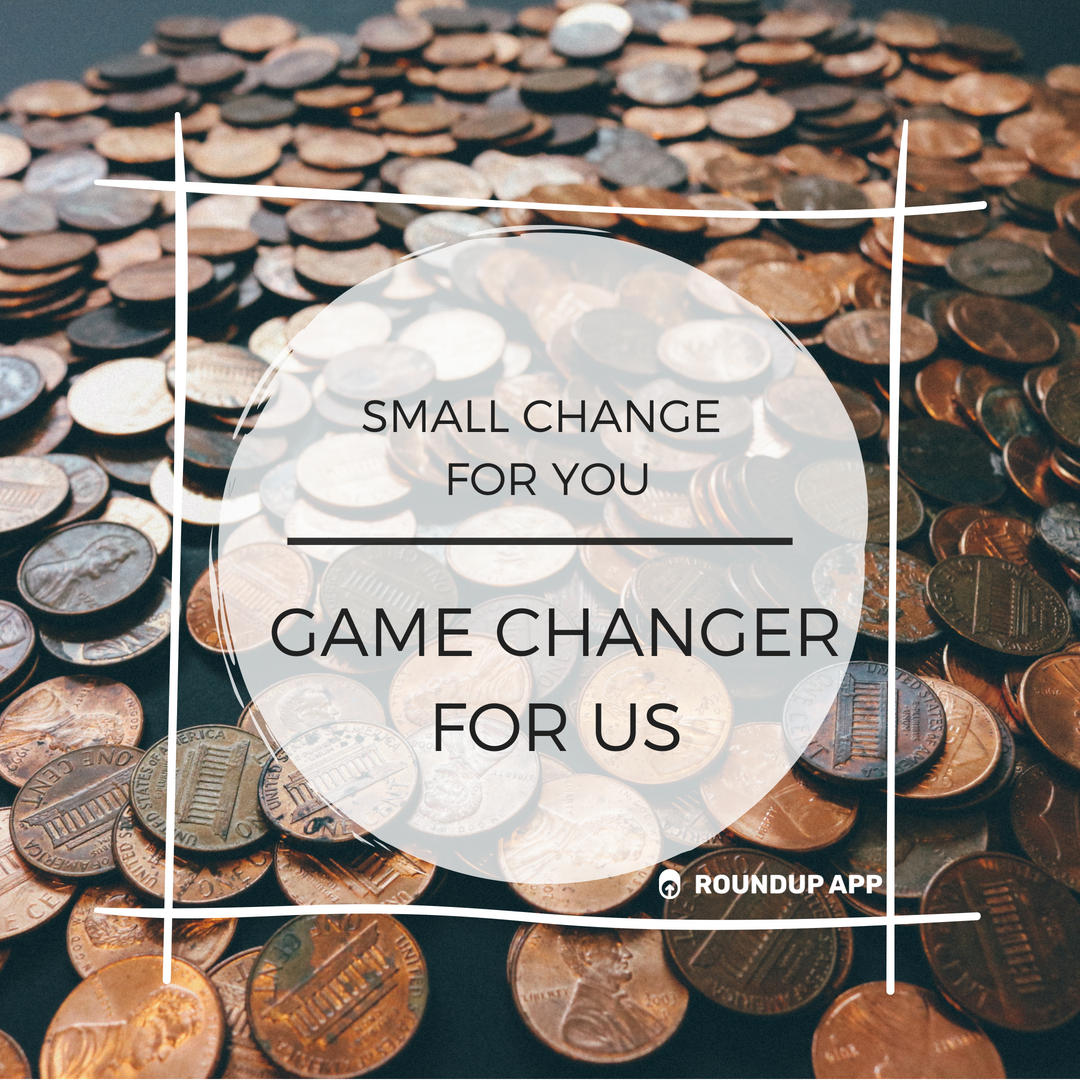 donate your change to be the change - Click the link below to learn how you can round every day purchases you make with your debit or credit card and donate the change to SDH!
