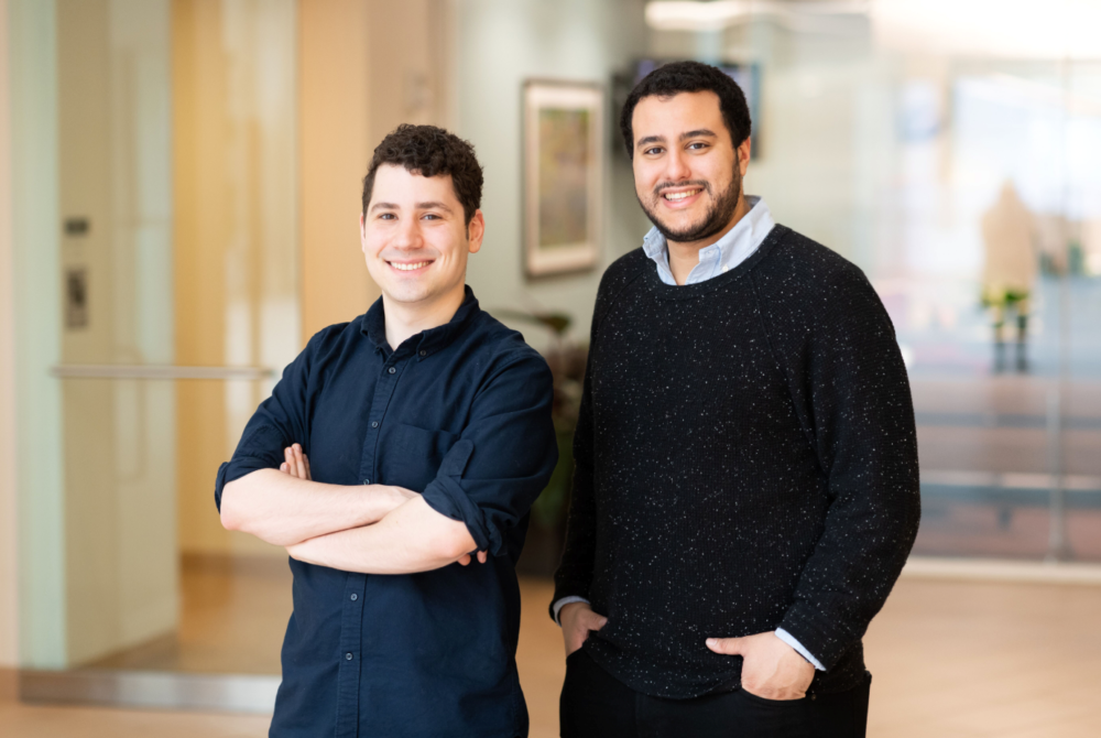 Omar Abudayyeh, PhD & Jonathan Gootenberg, PhD  are co-founders of Sherlock Biosciences. Based upon technology they developed in the Zhang lab (SHERLOCK) and work in the Collins Lab (INSPECTR), Sherlock Biosciences is leveraging CRISPR-based engineering and synthetic biology platforms to create a new generation of rapid, accurate molecular diagnostics. Launching with $35M, Sherlock has assembled a worldclass team of nine co-founders including CRISPR pioneers, industry veterans, and disease experts.