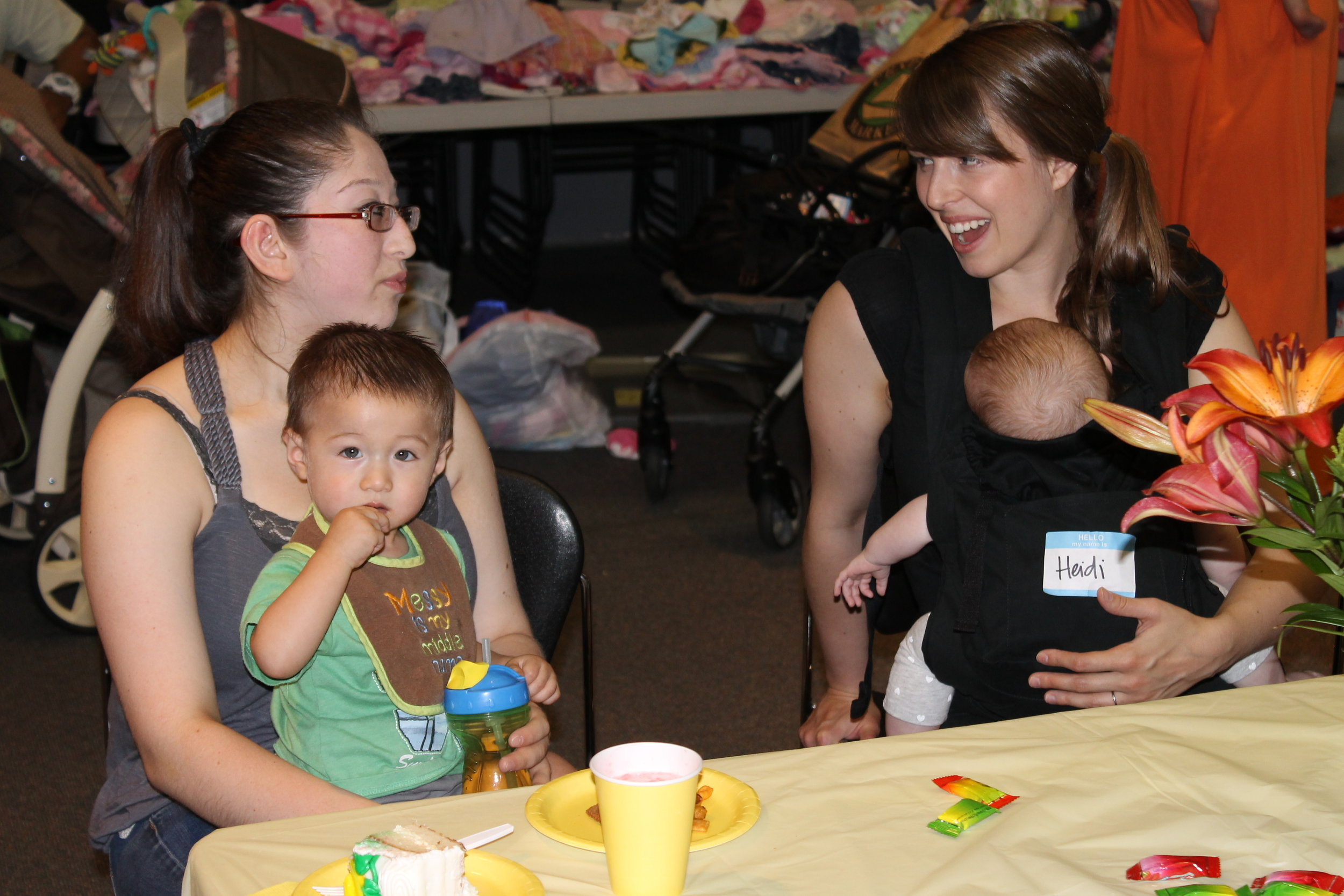 July - Danielle JorgensenJourney Church hosted a fantastic community baby shower, and we were honored to be able to partner with them to help out and to provide a fun event that benefitted many of our Step By Step moms. Danielle did a great job coordinating this event!