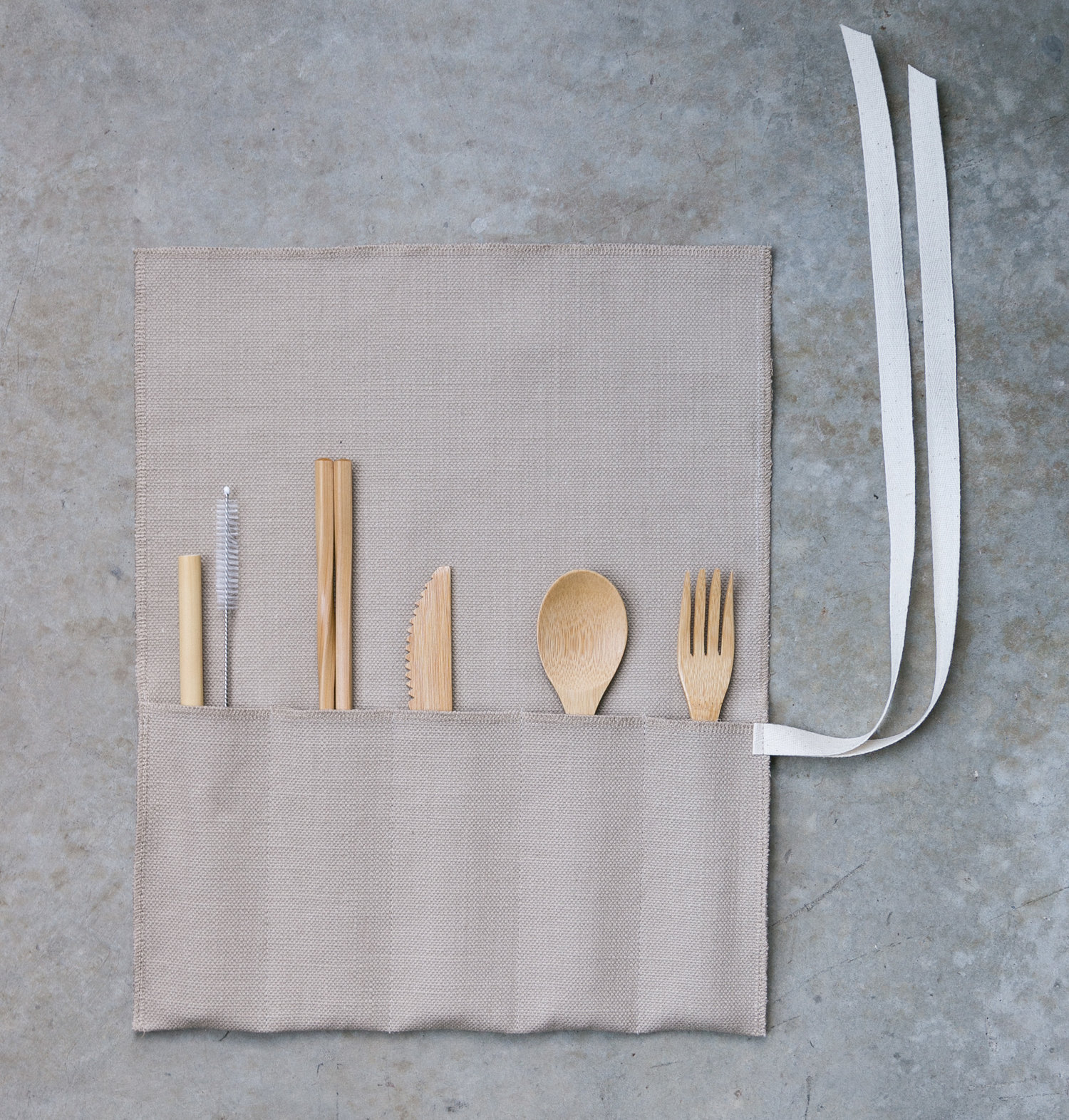 roll-up cutlery kit