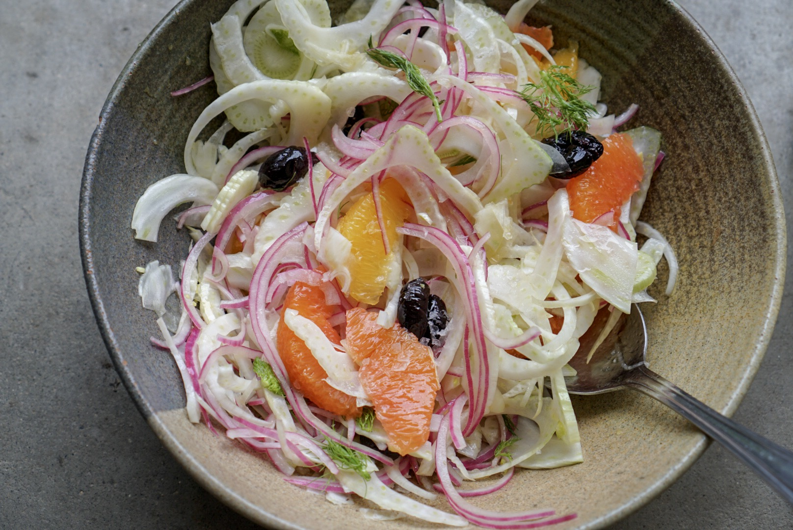citrus + fennel salad