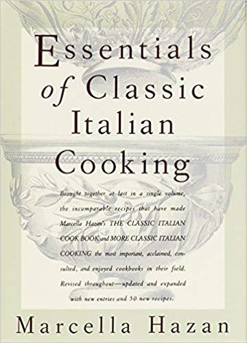 Marcella Hazan cookbook