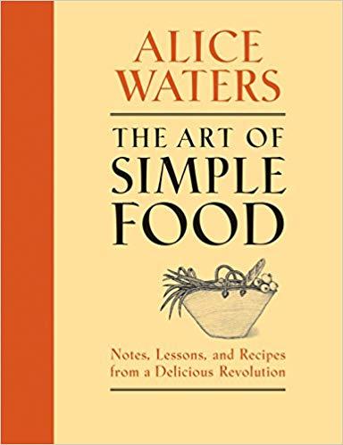 Alice Waters cookbook