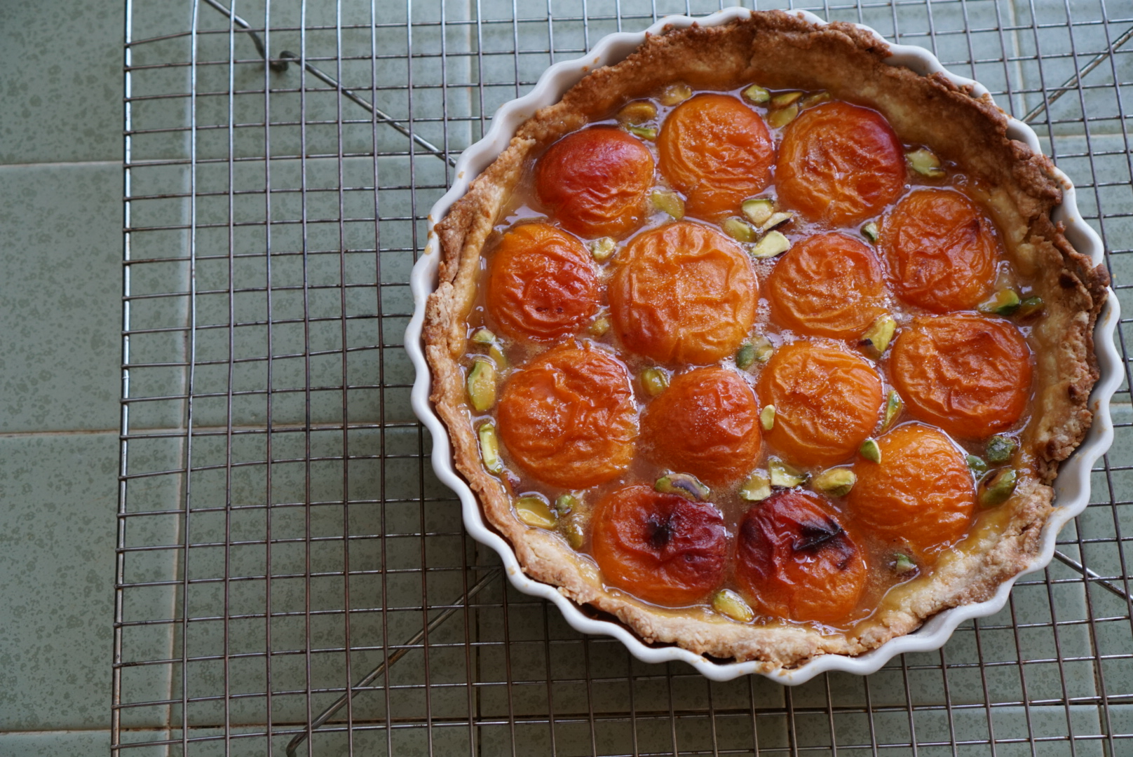 royal apricot tart