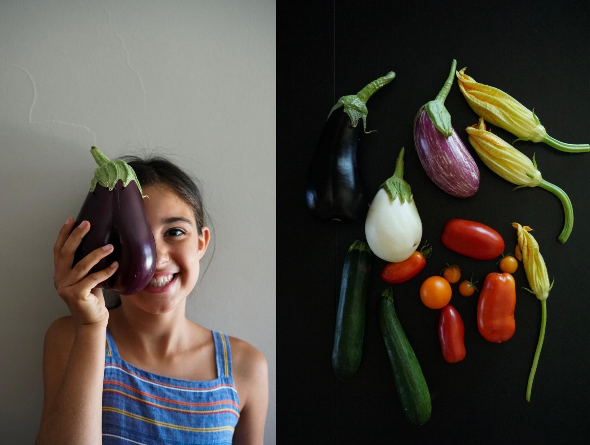 Carmelaratatouille eggplant