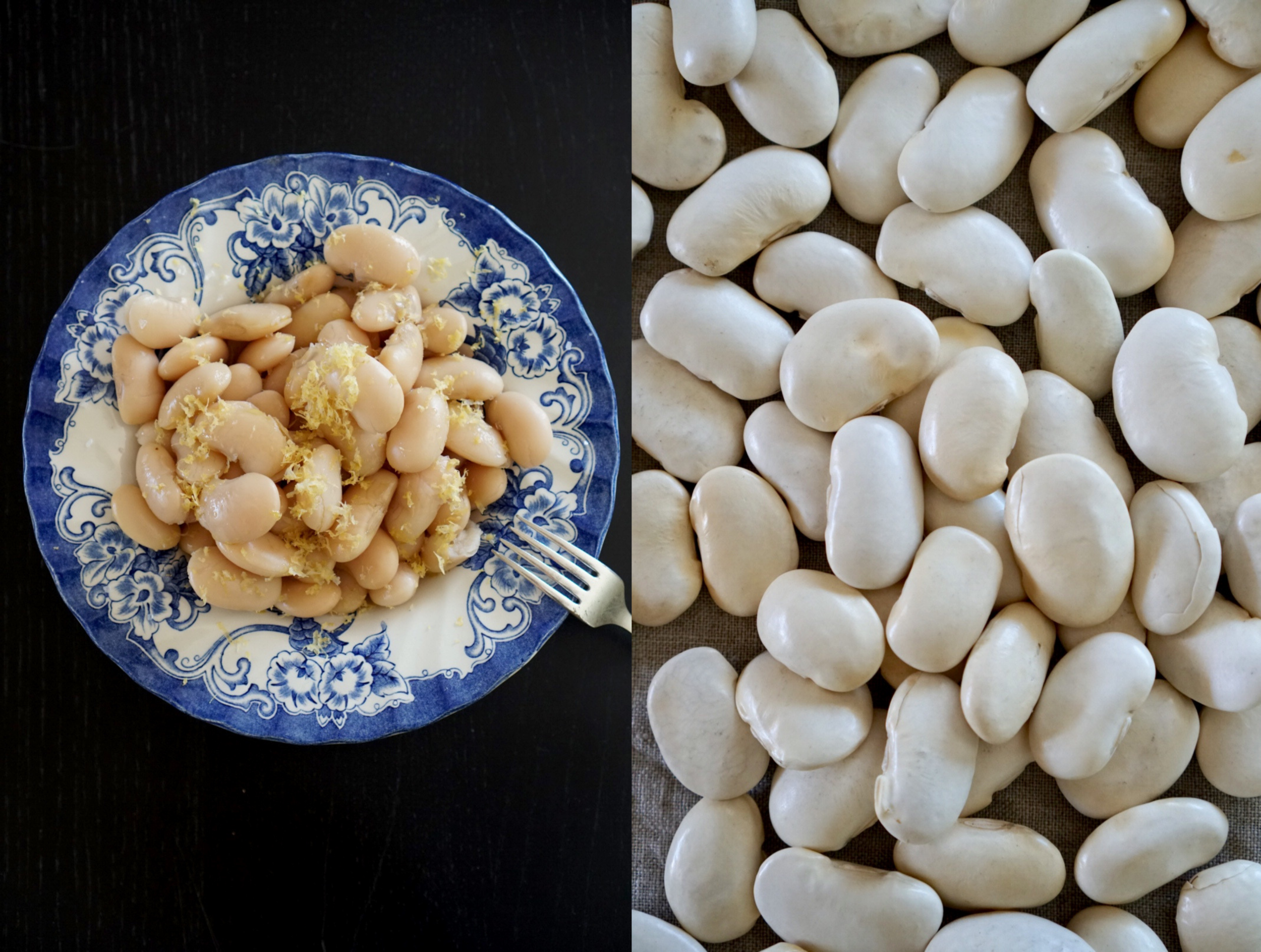 white beans giant lemon