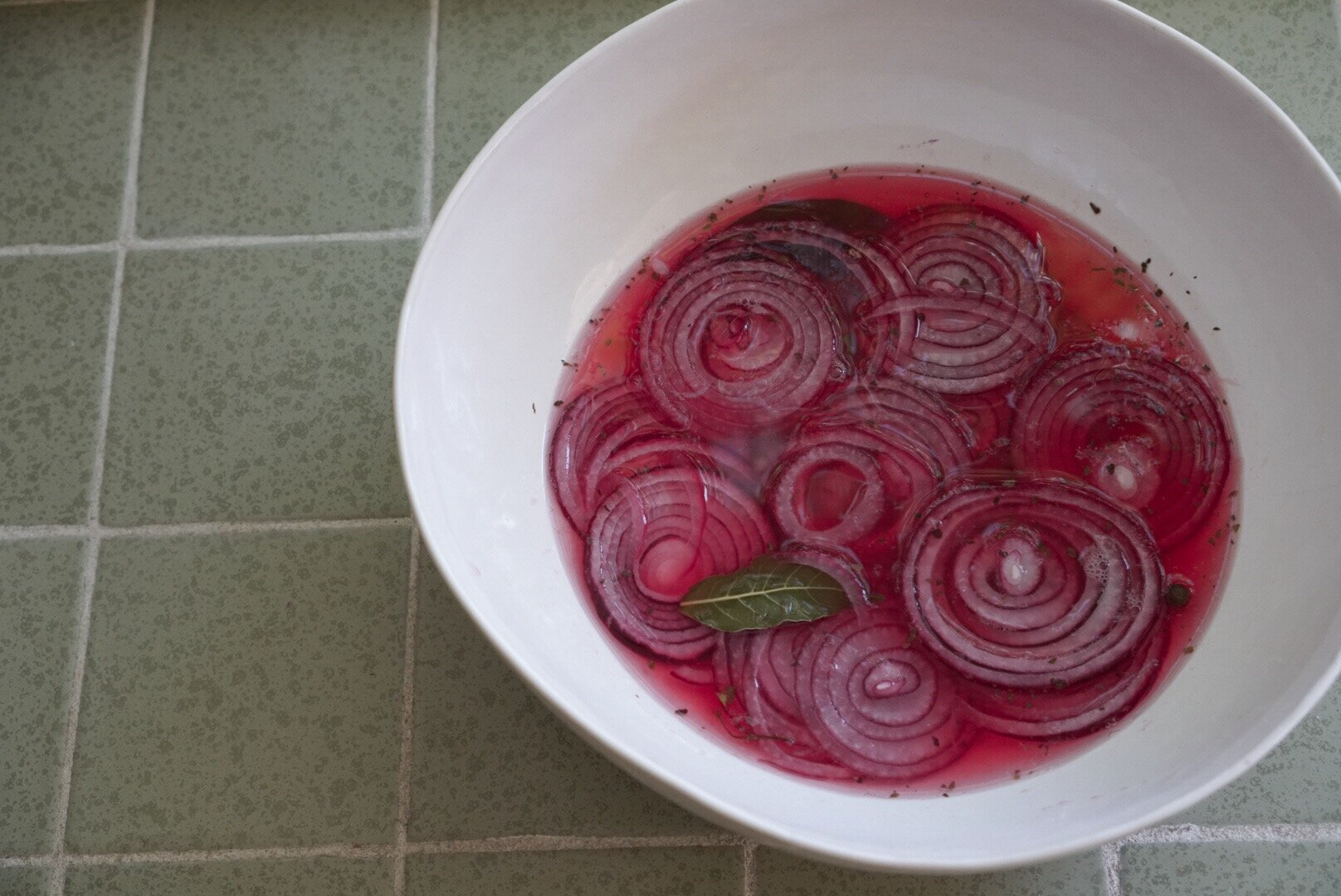 lime pickled onions