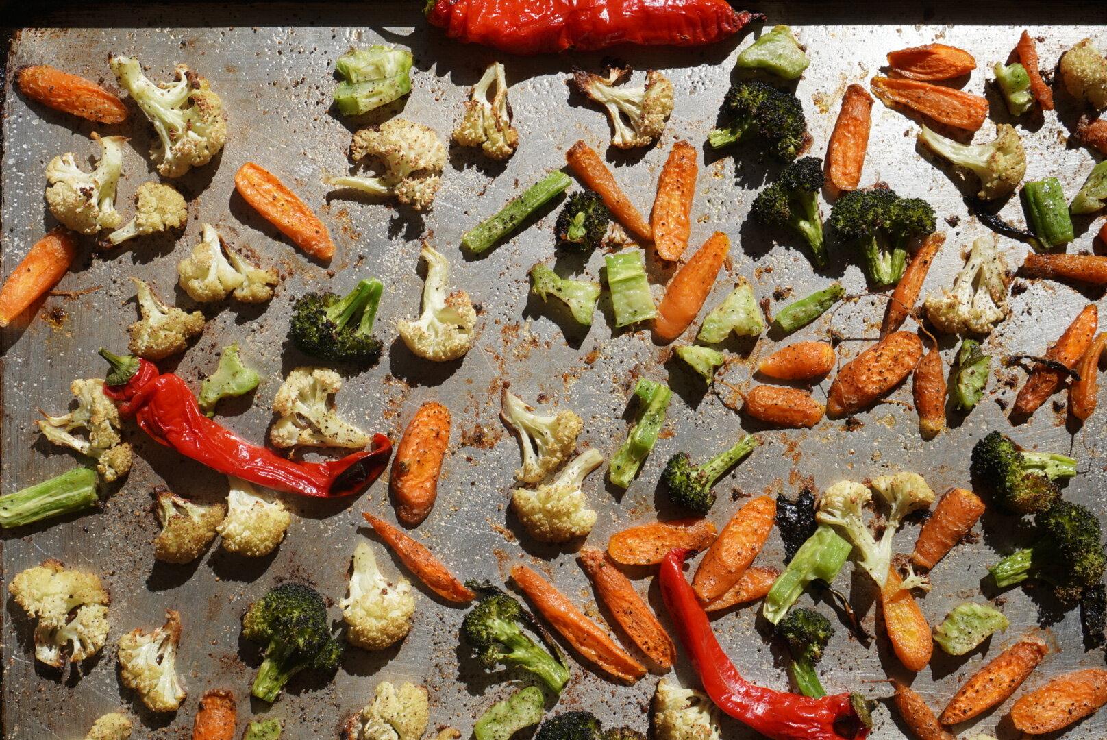 fall roasted veg