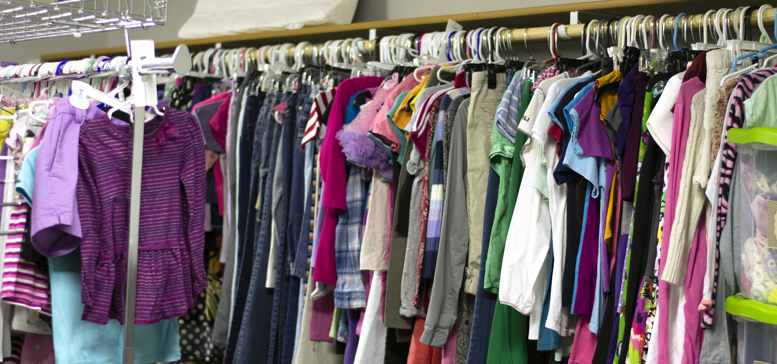 picture of donated clothing from Closet Green