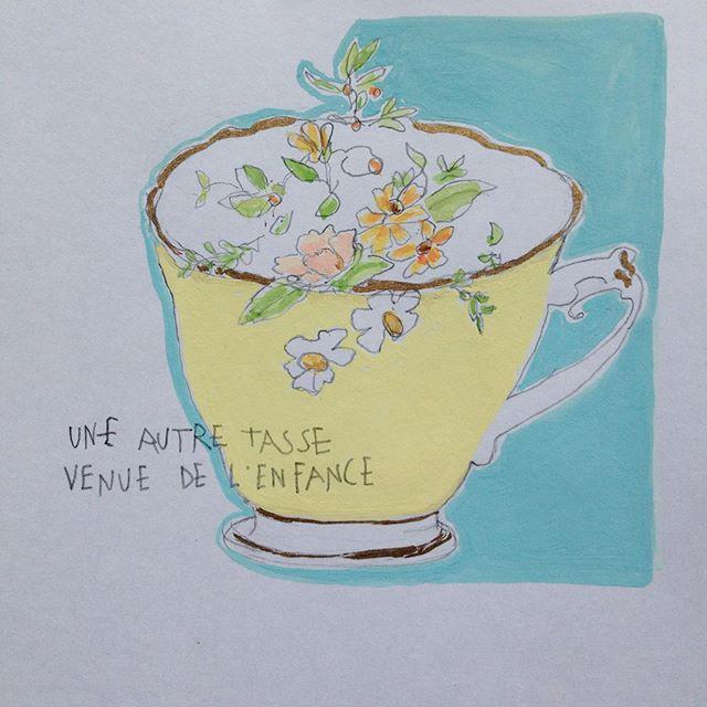 Le temps et le thé  sans les madeleines.