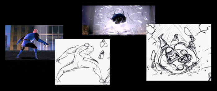 Planning: The Incredibles - Planning of one of the sequences from the film The Incredibles and the importance that planning had for this sequence.