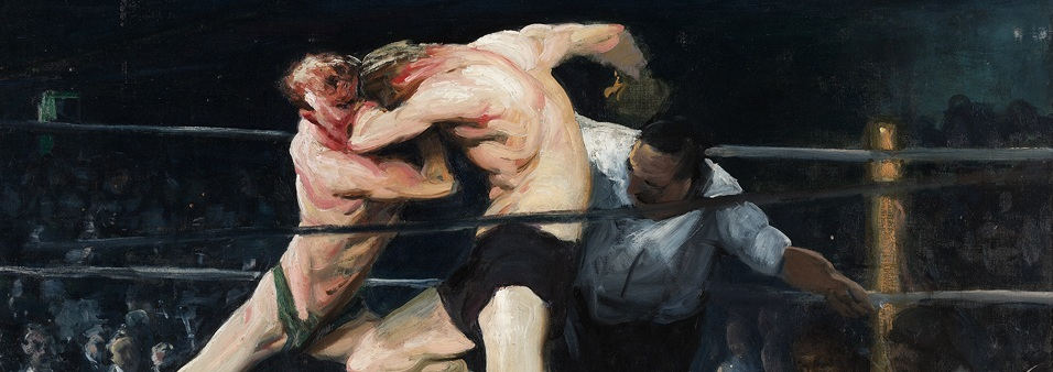 Stag at Sharkey's (by George Bellows)