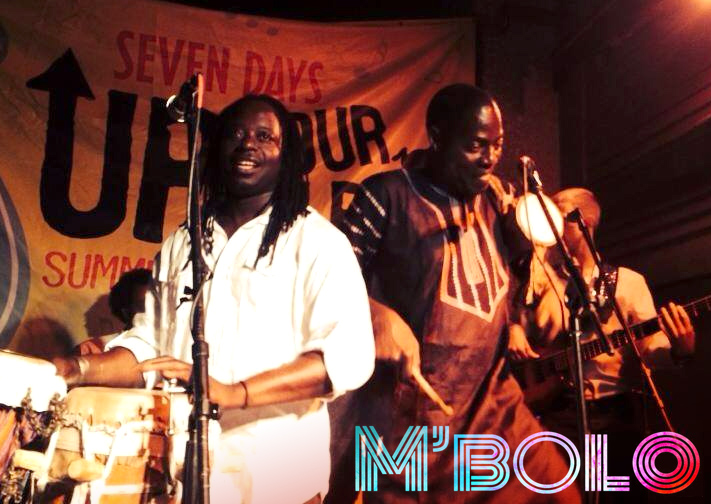 Dust off your dancing shoes and get your groove on with the Senegalese rhythms of M'bolo!