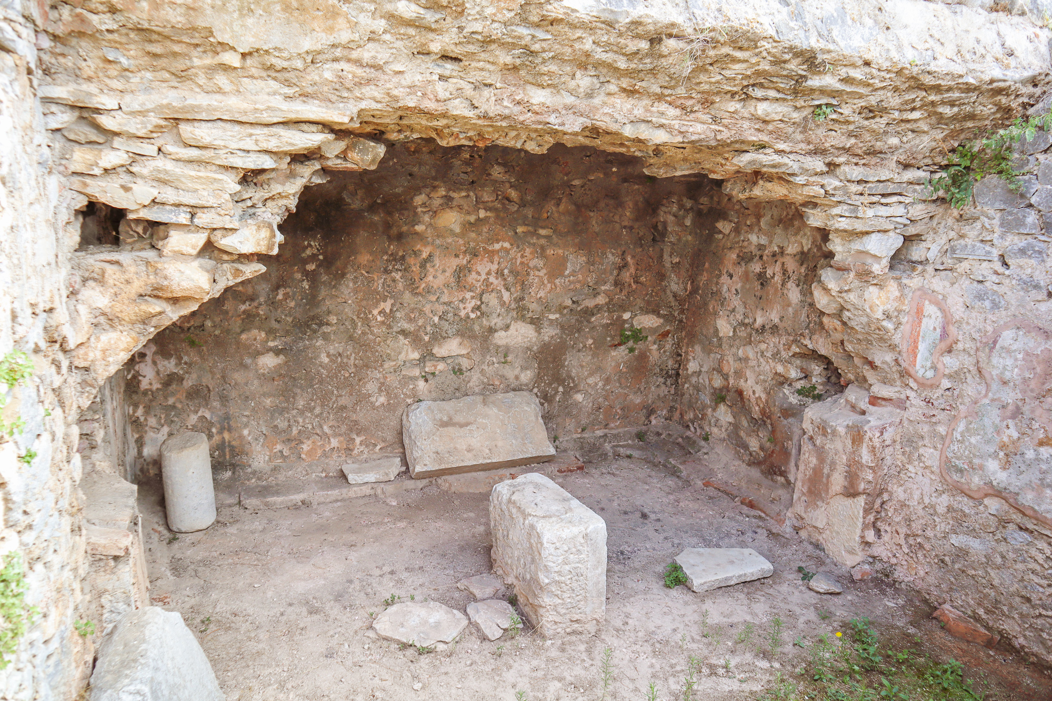 The prison the Apostle Paul was kept in Philippi