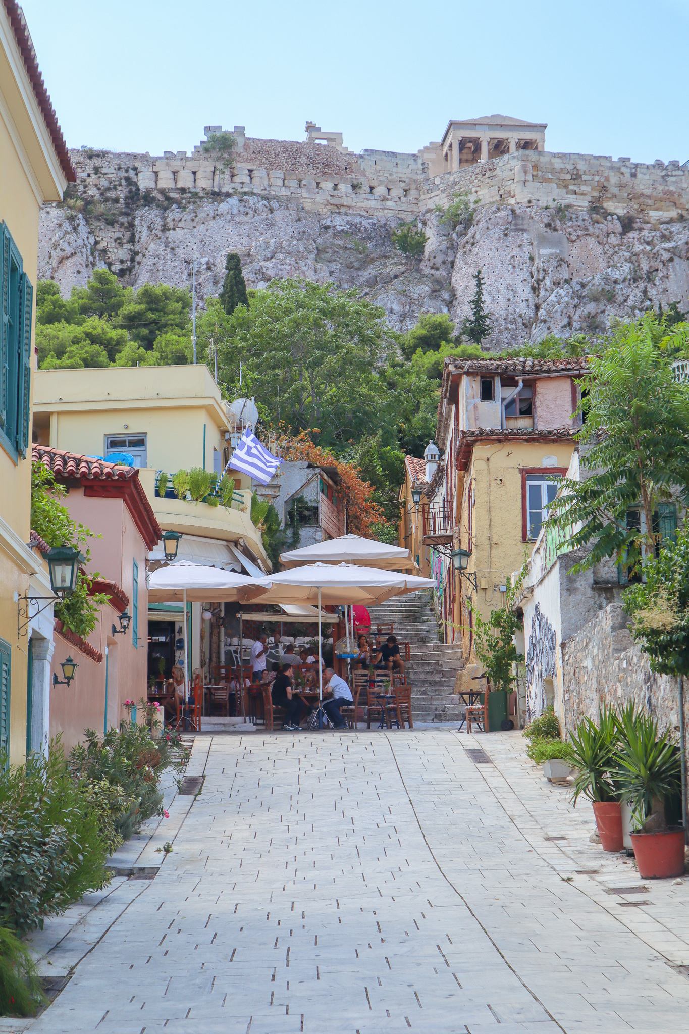 Near the Plaka area