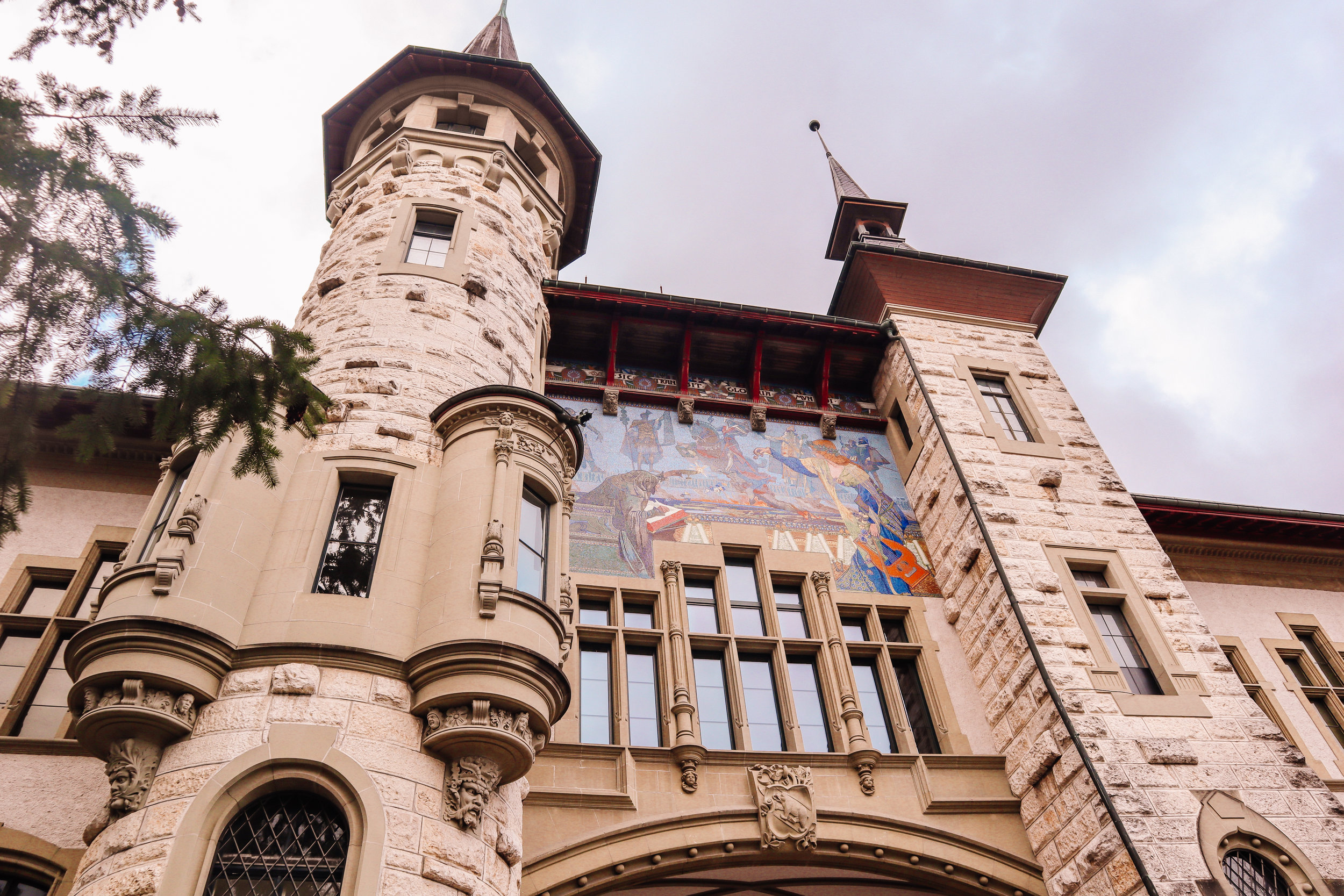 Historical Museum in Bern. Free Admission with the Swiss Travel Pass