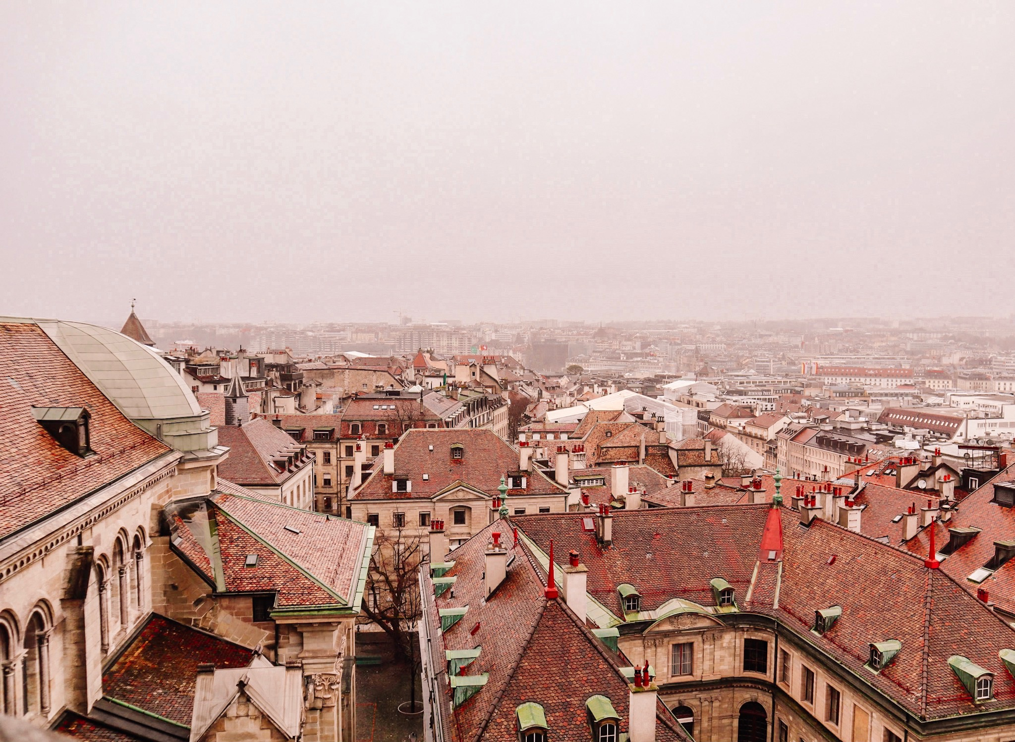 View from the Tower of the St. Pierre Cathedral