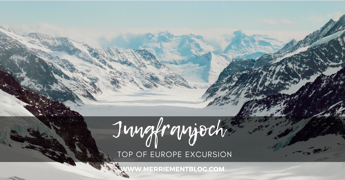 New Blog Post  - Check out our adventures on the Jungfraujoch!