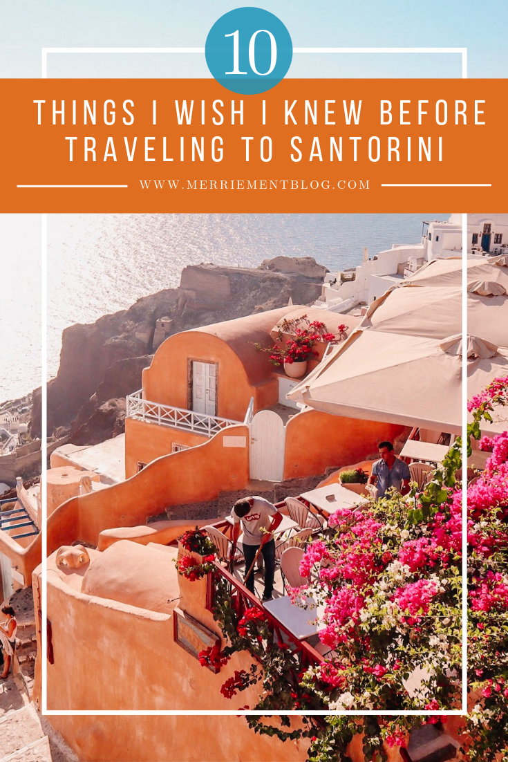10 Things I Wish I Knew Before Traveling to Santorini