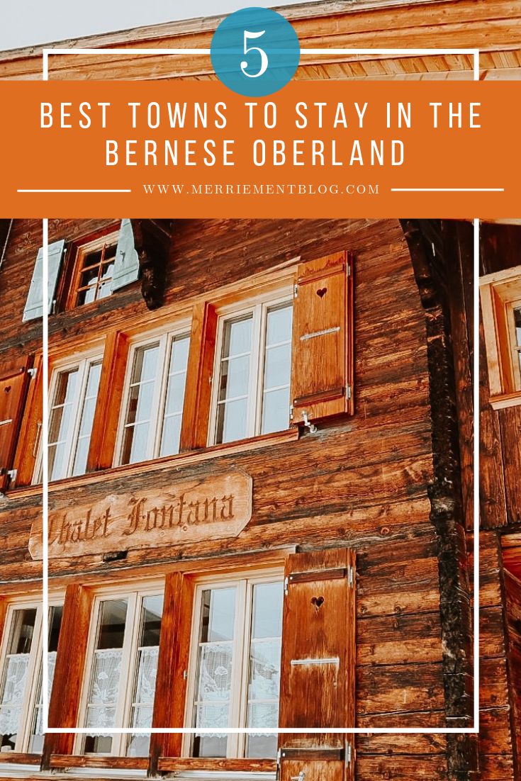 where to stay in the bernese oberland