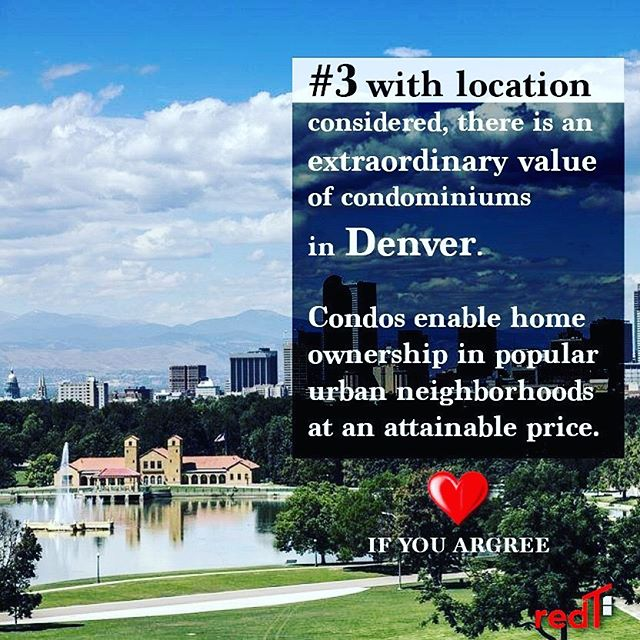 Double Tap if you agree! Link in Bio for the 5 other reasons 👆🏽😎 • • • • • #redthomes #denverrealestate #denverrealestatemarket #condos #denvercondos #realestate #realestatequestions #rise #instarealestate #instatips #instarise #opinion #opinions #denvercolorado #realestatetips #realestatetipsoftheday