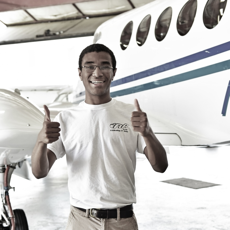 One of our organizations,  Tuskegee NEXT , seeks to transforms the lives of at risk youth through aviation education and career path opportunities, so they can transform their communities.