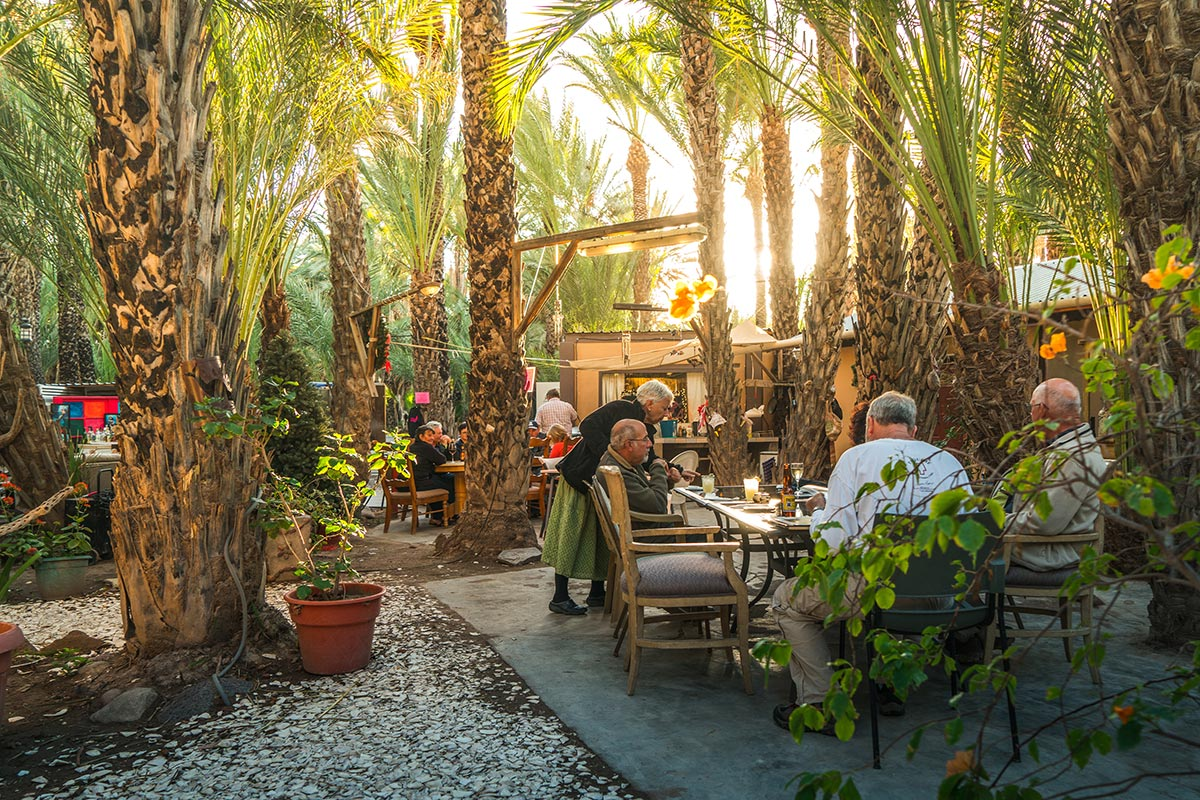 The best meals in Baja are served in Ignacio Springs...