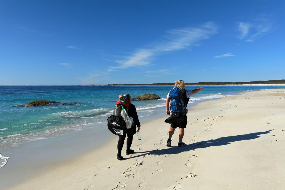 Bay of Fires Walk For Spiritual Seekers 2.JPG