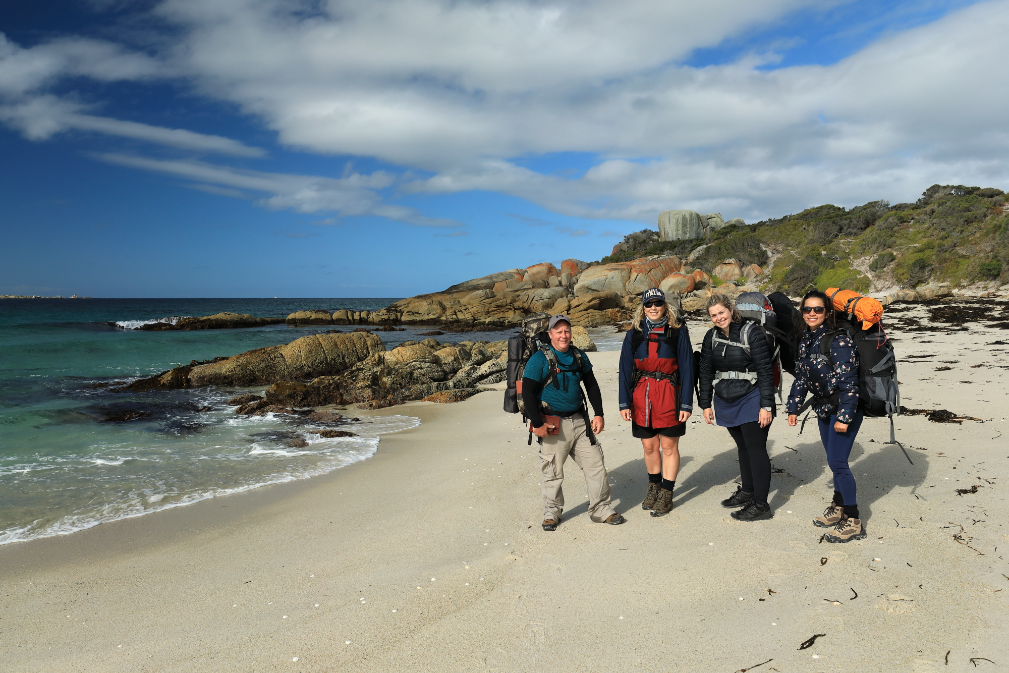 Bay of Fires Walk For Spiritual Seekers Group Photograph.JPG