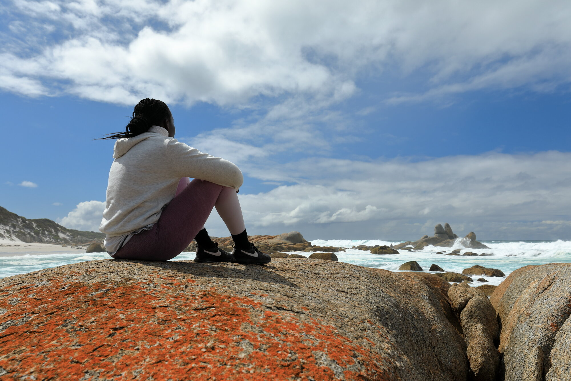 The Bay of Fires Walk For Spiritual Seekers 2.JPG