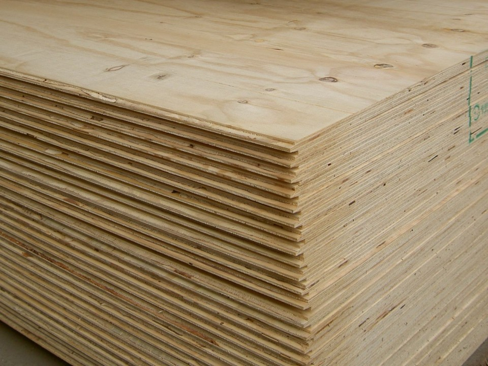 Plywood - 15/32 Inch Thick in 4x8 Sheets