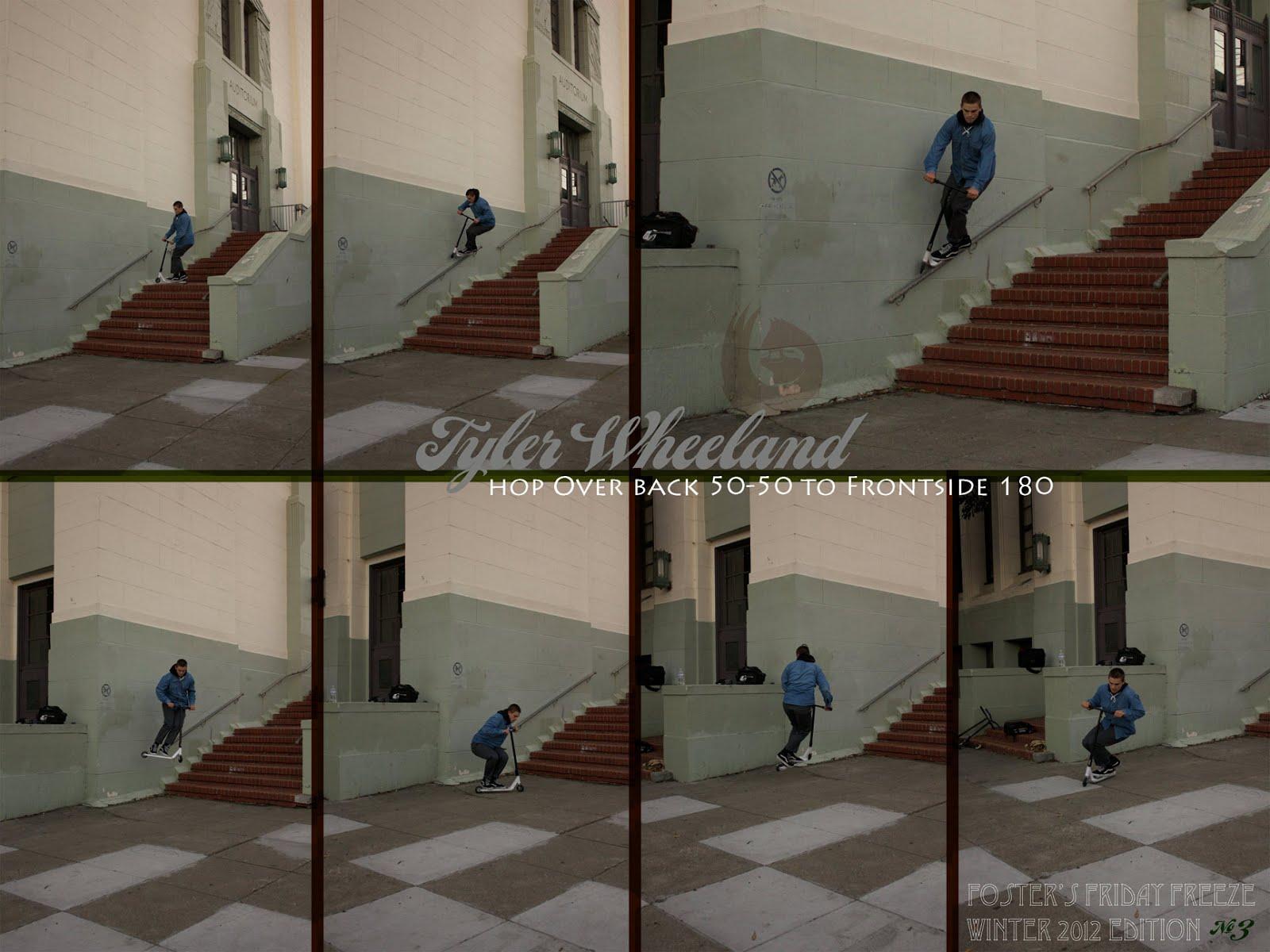 Tyler Wheeland | Inside 5050 fs 180 | 2012 HG Ad