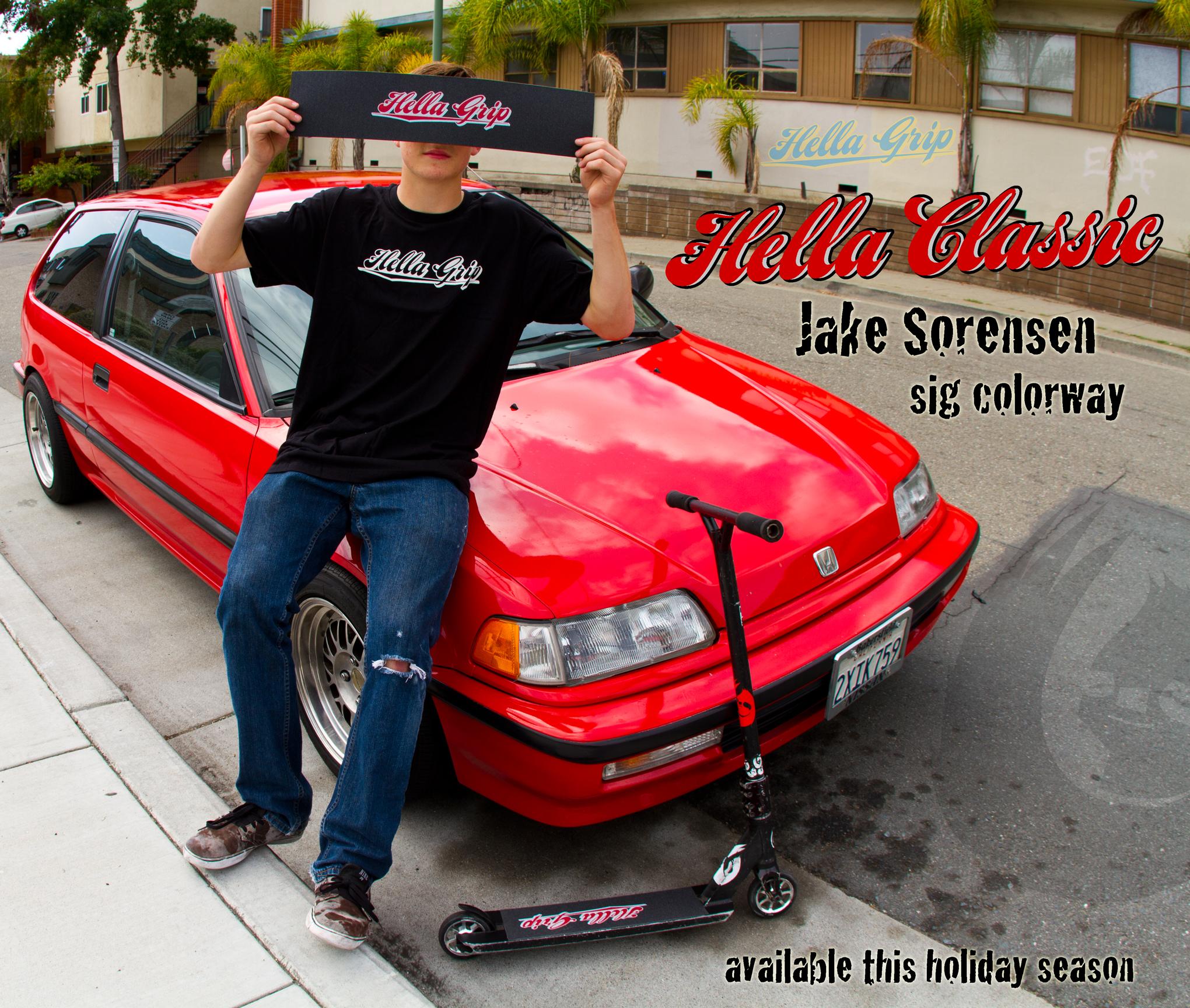 Jake Sorensen | HG Colorway Ad 2014