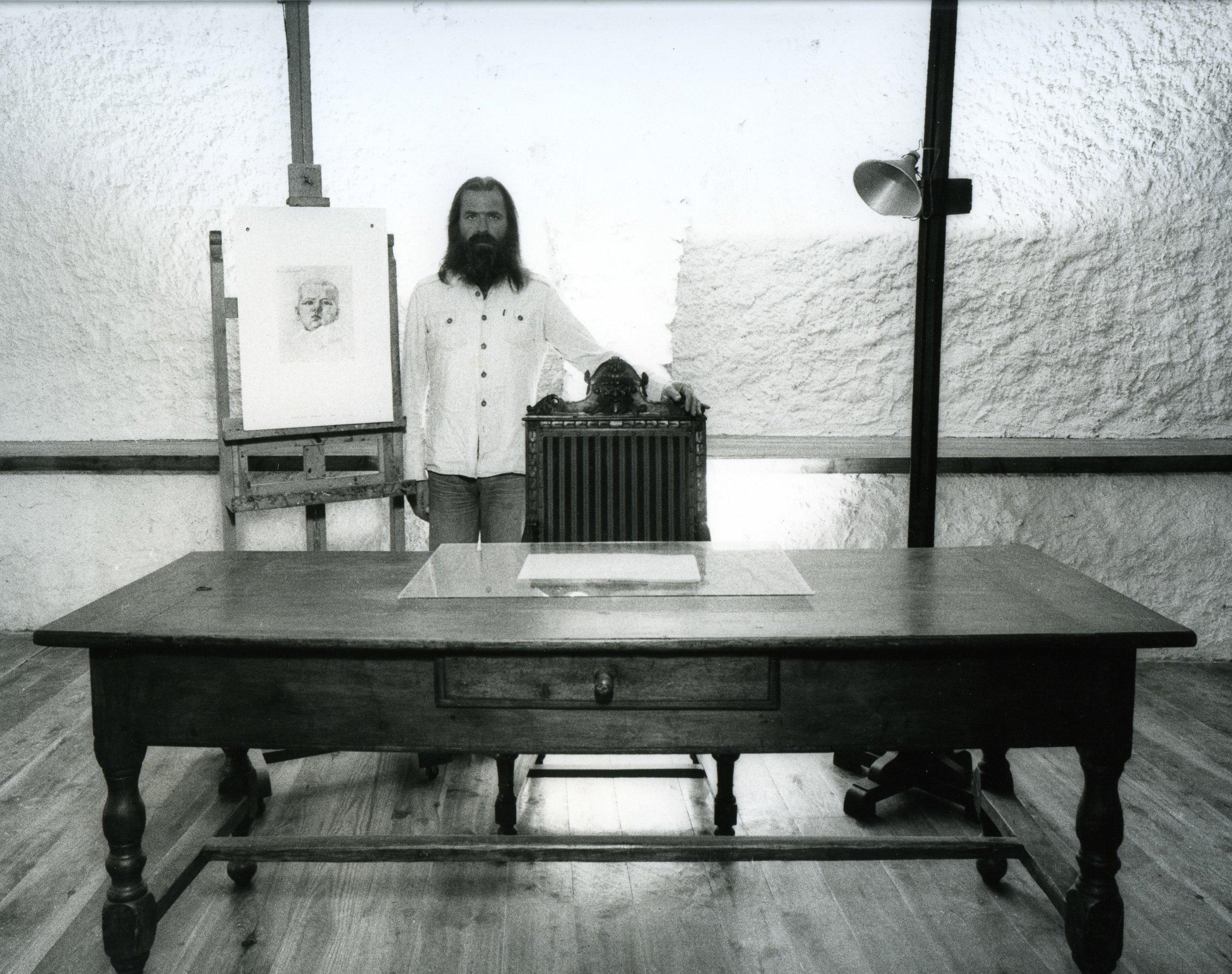 Michelangelo Pistoletto, i mobili di mio padre nel mio studio, 1976  Credit photo: P. Mussat