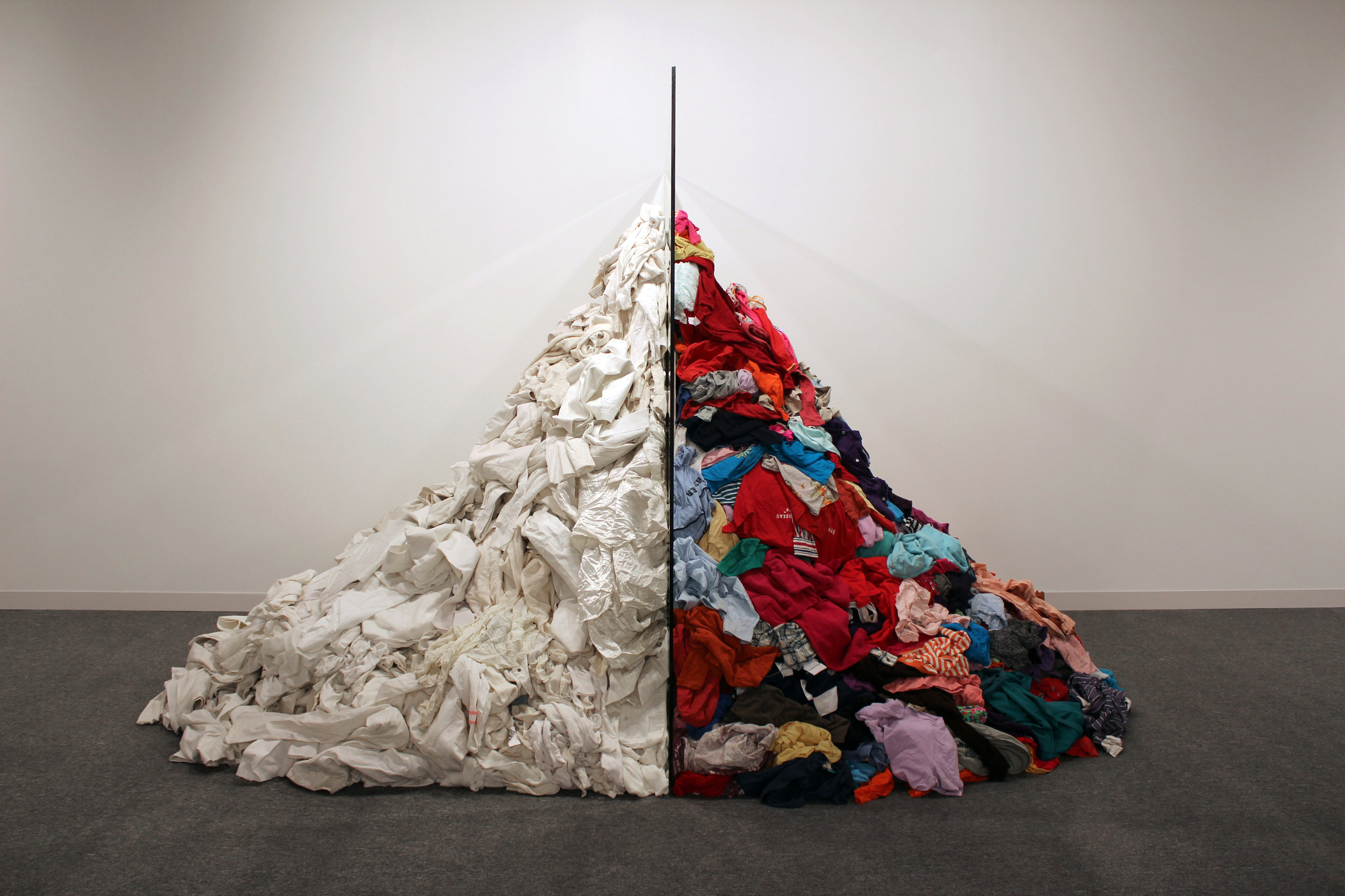 Michelangelo Pistoletto, Metamorfosi, 1976 - 2013  Abu Dhabi Art Fair  Credit photo: Alicia Luxem