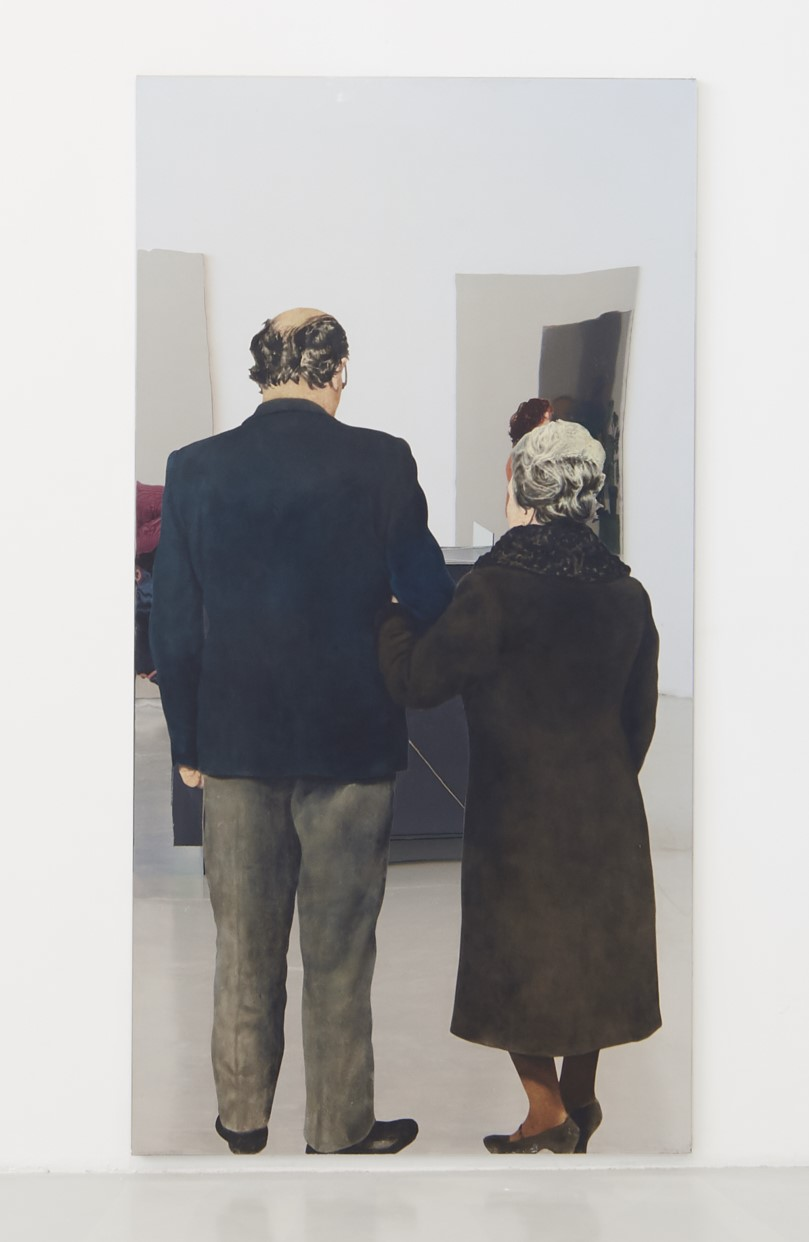 Michelangelo Pistoletto, Padre e madre, 1968  Credit photo: A. Osio