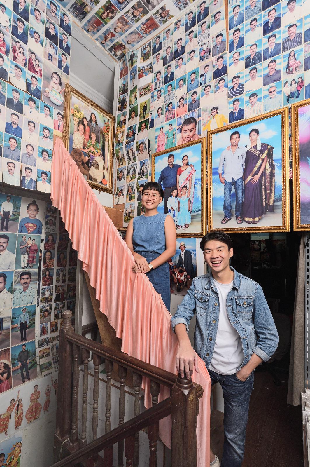 Produced by: Chong Kai Yan (left) and Pang Xue Qiang (right)
