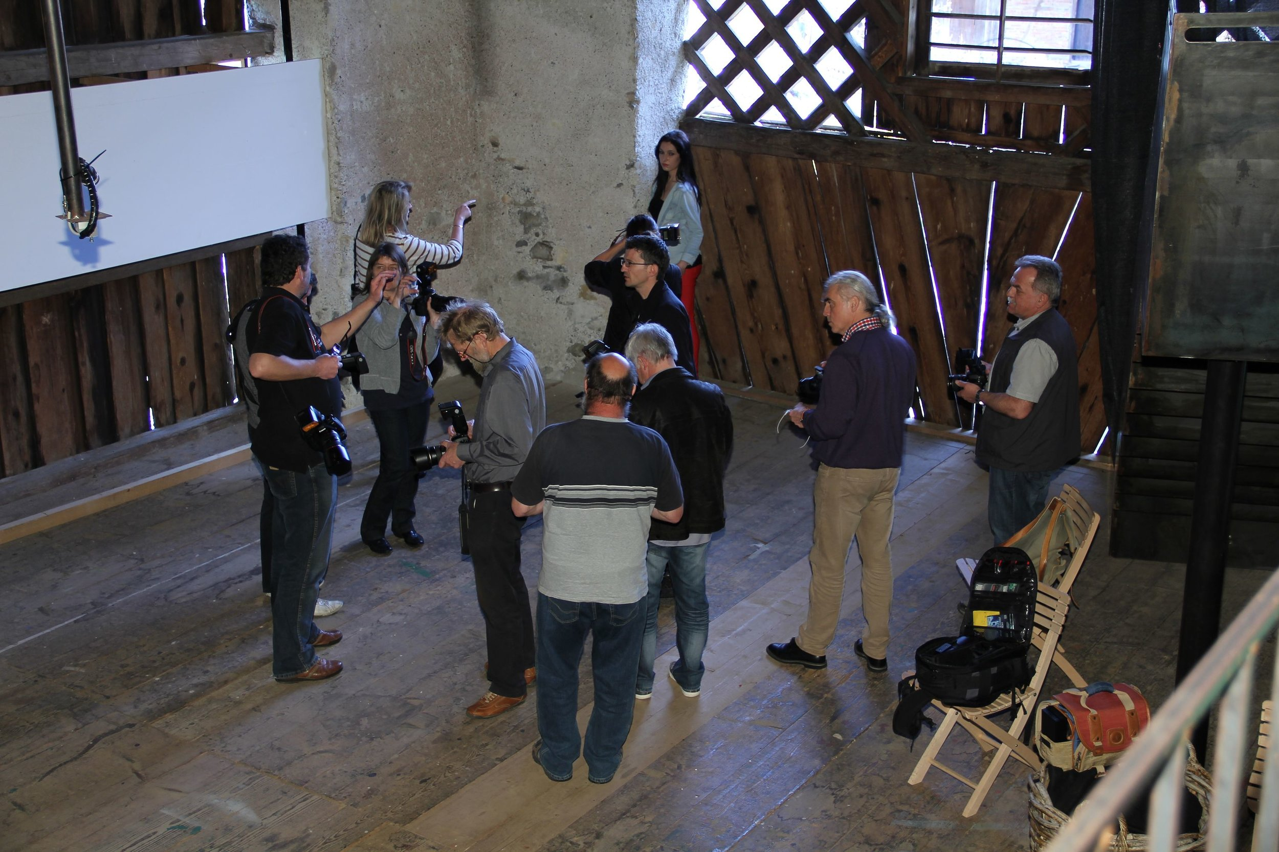 Workshop beim Fotoclub Nenzing