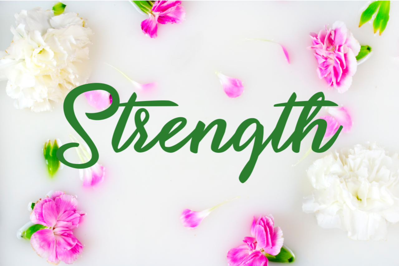 Choosing Your Word for 2019 - strength