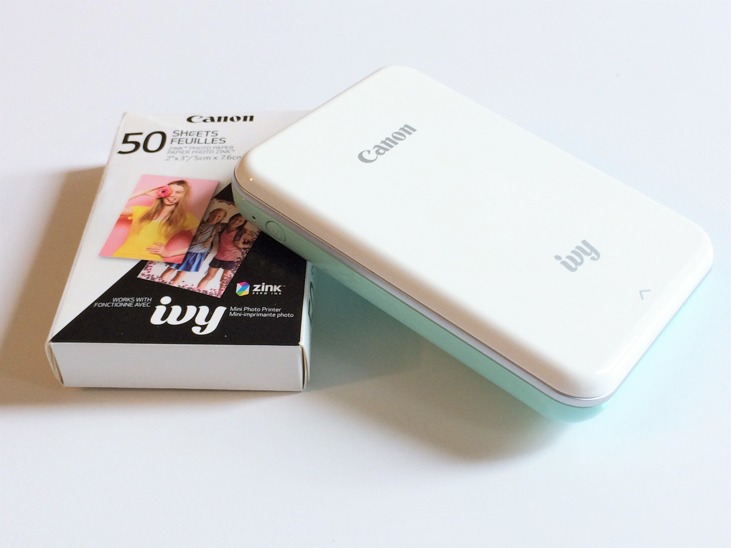 Canon Ivy Photo Printer and Paper