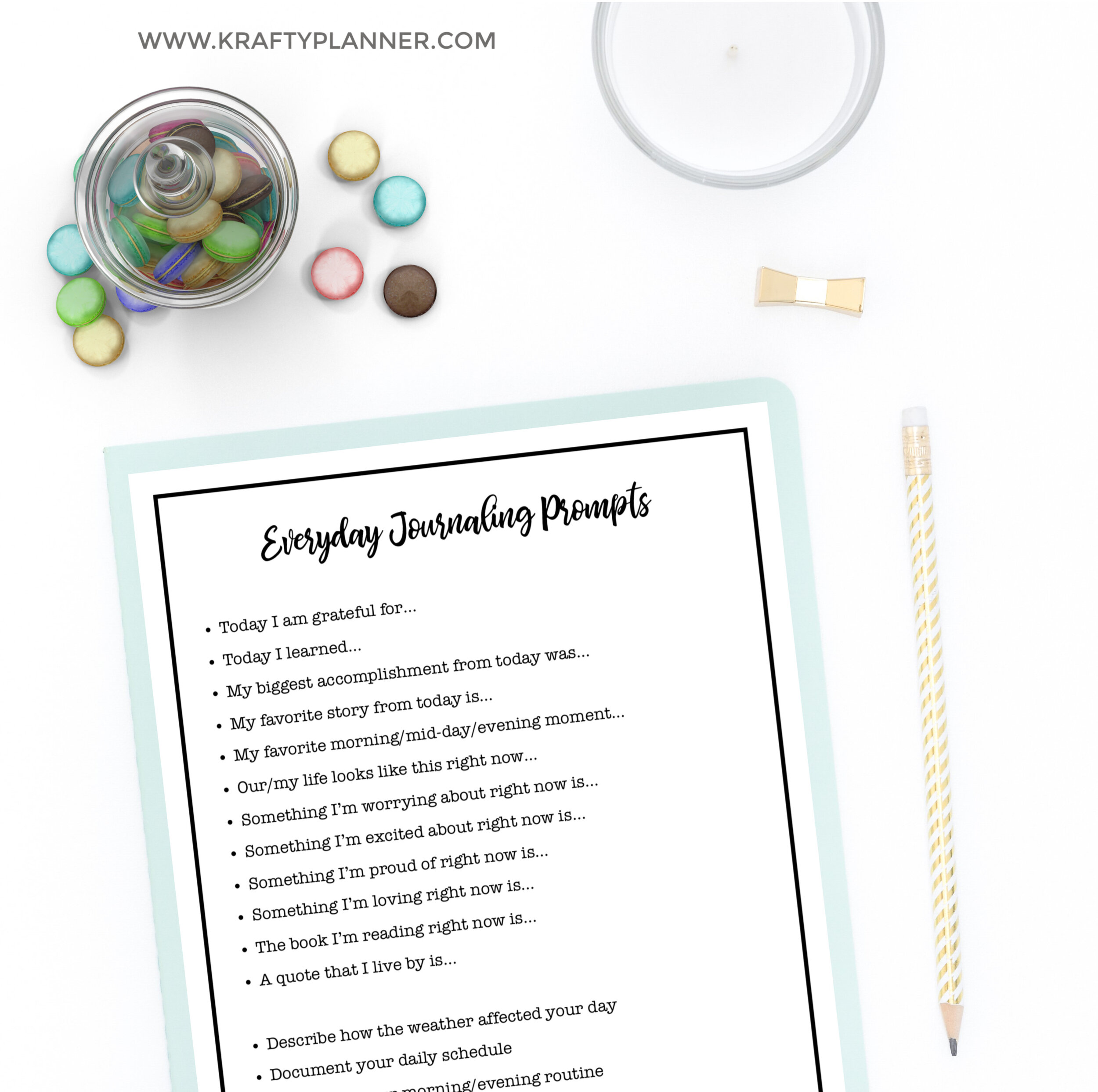 Everyday Journaling Prompts