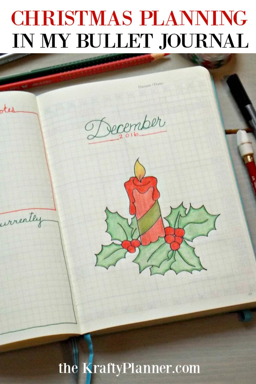 Christmas Planning in my Bullet Journal Throwback 2016.jpg