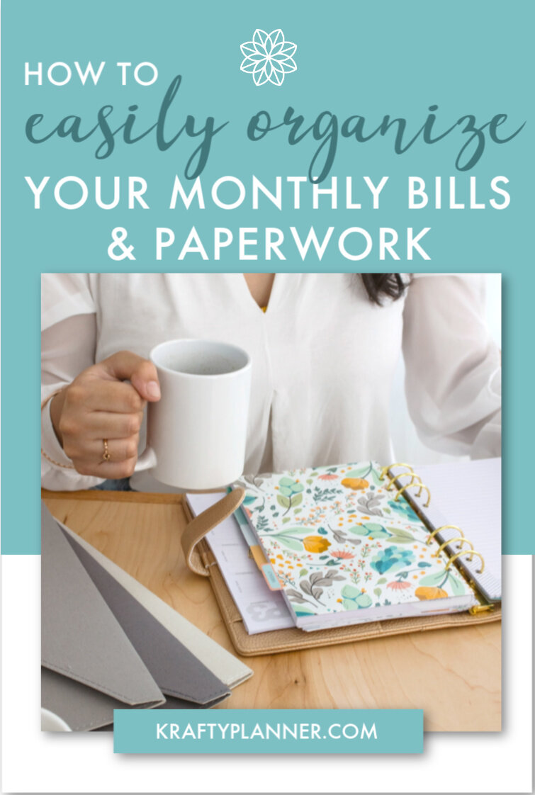 How to easily organize your monthly bills and paperwork PIN 1.jpg