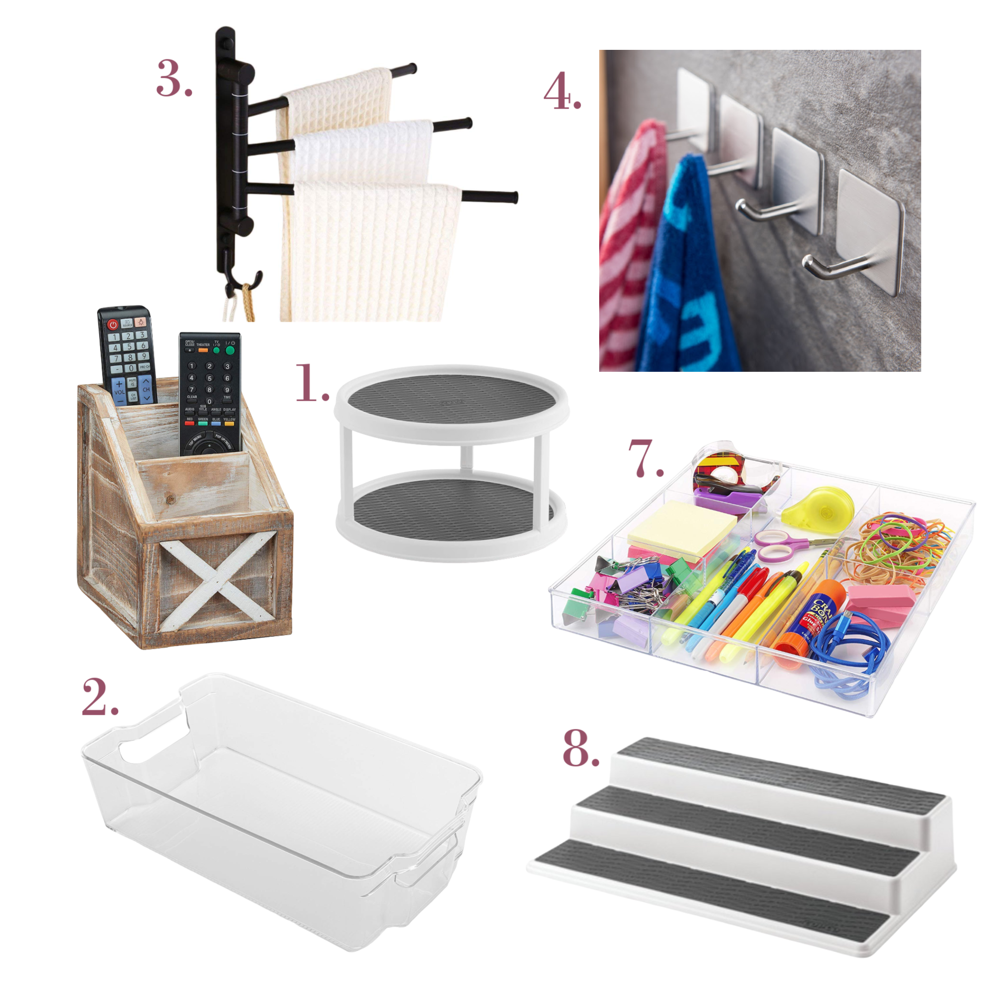 my 10 favorite things that will Keep Your Home Organized