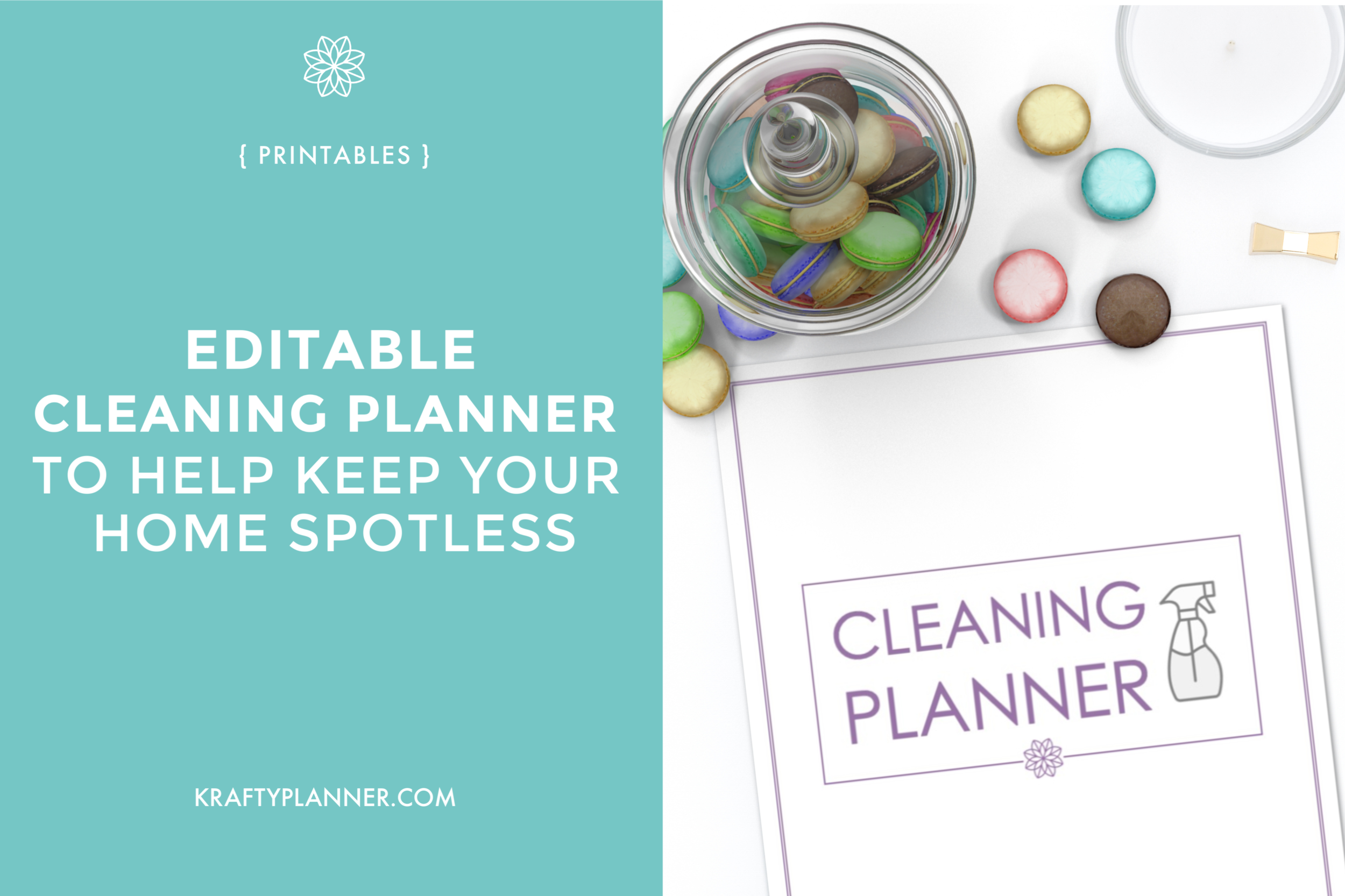 Editable Cleaning Planner to Help Keep Your Home Spotless Main Image.png
